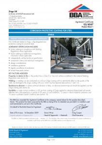 CE BBA certificate 2009