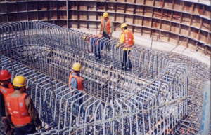 Rebars Treated with Zinga